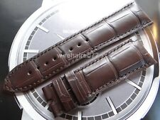 Vacheron Constantin 23mm Brown Alligator Strap