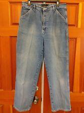 Route 66 Women's Carpenter Jeans Size 15/16 Average Dark Wash Work Wear Cotton