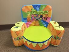 Nickelodeon Nick Jr Child Toddler Foam Plush Chair Backyardigans