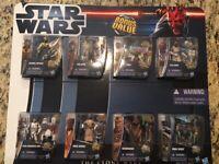 "Star Wars The Clone Wars Bonus Value 8 Pack 3.75"" Action Figures NIB   Hasbro"