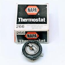 Napa 266 Engine Coolant Thermostat High Temperature 192-195F OE Style NOS 33299