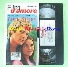 film VHS cartonata LOVE STORY Ali Macgraw O'Neal D'AMORE DEAGOSTINI (F83) no dvd