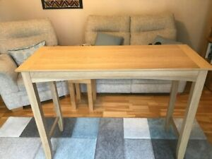 John Lewis Alba Oak Bar Table