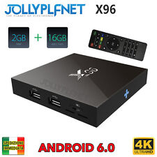 X96 Amlogic S905 2GB 16GB Android 6.0 Marshmallow KODI TV BOX 4K IPTV Decoder