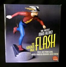 DC Direct Golden Age Flash Cold-Cast Porcelain Statue New from 1999 .