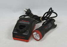 Snap-on CTCF-572 7.2V Charger & Snap-on CTLED566 Torch