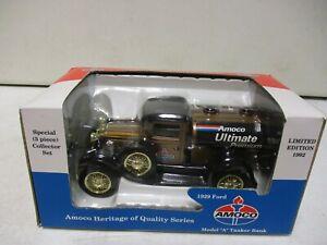 Spec Cast Amoco Ultimate 1929 Ford Model A Tanker Bank