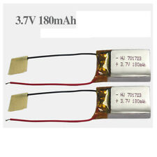 2pcs 3.7V 180mAh Battery for SYMA S107G S108G S109G S111G MJX X901 RC Quadcopter