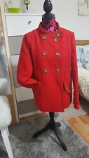 La redoute Red Coat/Jacket. Size 12.