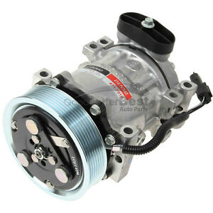 One New DENSO A/C Compressor and Clutch 4717010 for Dodge
