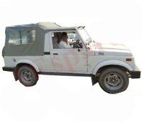 Gray Soft Top Roof Long Body For Suzuki SJ410 SJ413 Samurai AUD