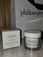 New! Philosophy Take A Deep Breath Oil Free Oxygenating Gel Cream 2 oz - NIB!