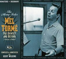 Quintet & Beyond - 4 DISC SET - Mel Torme (2012, CD NEUF)
