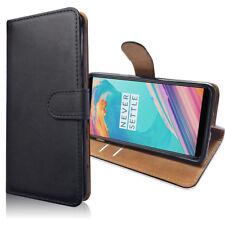 SDTEK Coque Housse Portefeuille Etui Cuir Flip pour OnePlus 5T