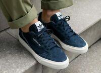 adidas Originals Continental 80 Vulc Shoes Collegiate Navy/White