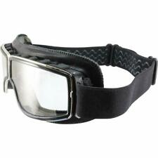 Birdz Condor Black Sport Padded Motorcycle Riding Goggle with Clear Lens