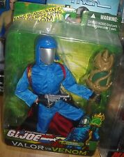 "vintage style 12"" Cobra Commander G.I. Joe figure doll"