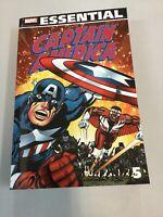 Captain America Essential Vol. 5 Paperback Tpb Marvel Comics