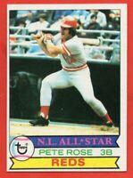 1979 Topps #650 Pete Rose NEAR MINT Cincinnati Reds FREE SHIPPING