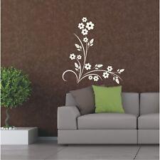 Blumen Wandtattoo  Blüten Wohnzimmer Wandsticker Wandbild Ranke Blume Blüte13