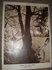 Printed art photo Lady of the Lake nude by Fred Daniels 1949 ref K