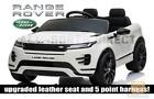 LICENSED WHITE 2021 RANGE ROVER EVOQUE 12V ELECTRIC KIDS CHILDS RIDE ON JEEP CAR