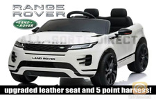 LICENSED WHITE 2020 RANGE ROVER EVOQUE 12V ELECTRIC KIDS CHILDS RIDE ON JEEP CAR