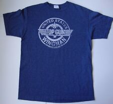 Men's TOP GUN ICEMAN WINGMAN T shirt size medium M