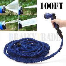 3X Stronger Deluxe 100 Feet Expandable Flexible Garden Water Hose w/Spray Nozzle
