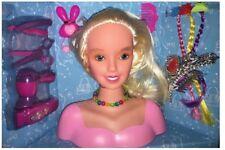 Dream Fashion Girls Hair Styling Head Model Hair Dressing Accessories Inc +3 Age