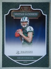 NFL 280 Christian Hackenberg New York Jets Rookie Card Panini 2016