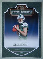 NFL 280 Christian Hackenberg New York Jets Rookie Card Panini 2016