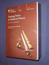 Teaching Co Great Courses CDs   TURNING POINTS in MEDIEVAL HISTORY    new sealed