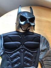 Batman DC Comics Costume Fancy Dress Up Outfit Age 3 - 4 Incomplete