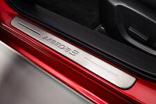 Genuine Mazda 3 2016-on Door Sill Scuff Plate Kit - BHR1-V1-370