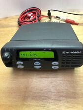 Motorola CDM1550LS - VHF/ 136-174 MHz/ 1-45W 15/16 Talkgroups/ 160 Channels.
