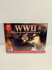 WWII: Hell on Earth and Thunder Above It (DVD, 2009, 10-Disc Set) Sealed