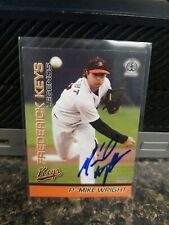 Mike Wright Frederick Keys Baltimore Orioles Autographed Card In person