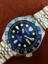 LOVELY SAVE THE OCEAN MOD SEIKO 7S26-0020 SKX007J AUTOMATIC MENS WATCH 790132