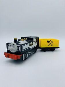 THOMAS & Friends Freddie Motorized Trackmaster Train W Flatbed Cargo Car
