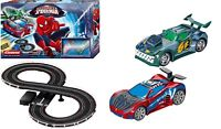 Spiderman RC IR Remote Control Slot Car Track Race 4+ Carrera Marvel Avengers