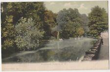 Bonchurch Pond, Isle of Wight F.G.O. Stuart 168 Postcard B801