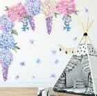 Lavender Flower Ball Home Wall Sticker Living Room Removab Home Décor Art