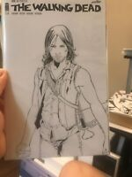 the walking dead Issue 150 Sketch Cover With Original Artwork Of Daryl Dixon