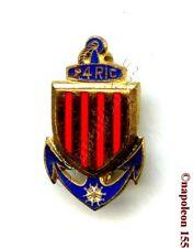 TROUPES COLONIALES. 24 eme Rgt d'Infanterie Coloniale, RIC. Fab. Drago Paris