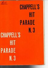 SC19 SPARTITO Chappell's hit parade n.3