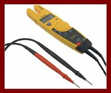 Fluke T5-600 Continuity & Current Tester Multimeter DMM Correct Aussie Probes