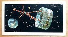 Brooke Bond RACE INTO SPACE card 37. HEOS satellite.