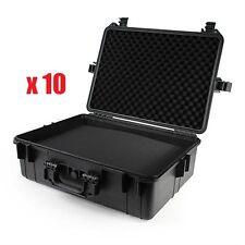 """(10x) Tactical 22"""" Weatherproof Gun Firearm Camera Case Pelican 1520 Style Foam"""