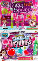 Set Of 2 Girls Science Labz Kits - Make Your Own Smellies Jellies/Fruity Sprays